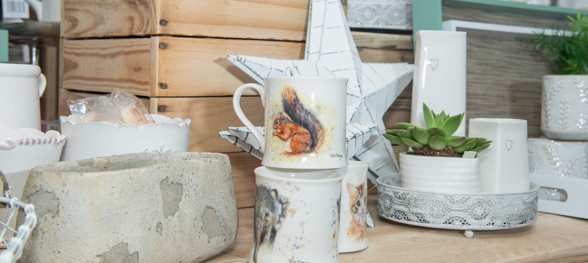Ceramics at P&K Home Interiors